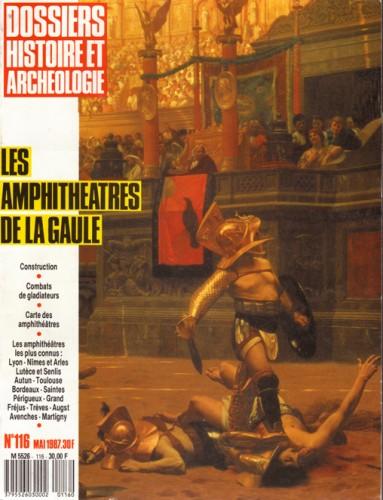 Couverture des Dossiers d'Archéologie, 1987.